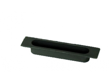 La poignée de fenêtre coulissante Médaille encastré bac 4S nylon noir
