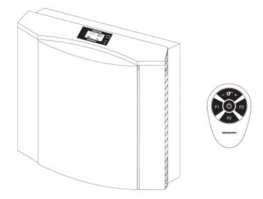 Aerovital package Siegenia avec deux filtres de rechange