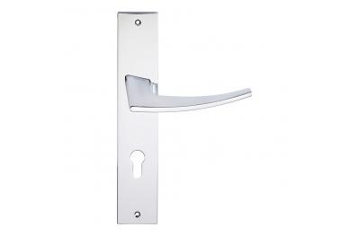 Antares série formes de mode Poignée de porte plaque de Frosio Bortolo Modern Design