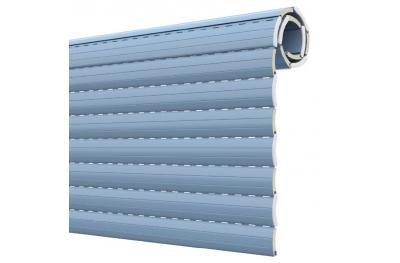 Volet en aluminium isolé à densité moyenne AS 55 Pinto