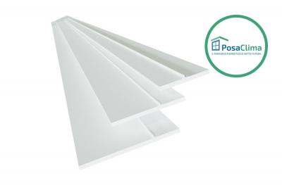 Butée pour contre-châssis de fenêtres PVC Teknica PosaClima