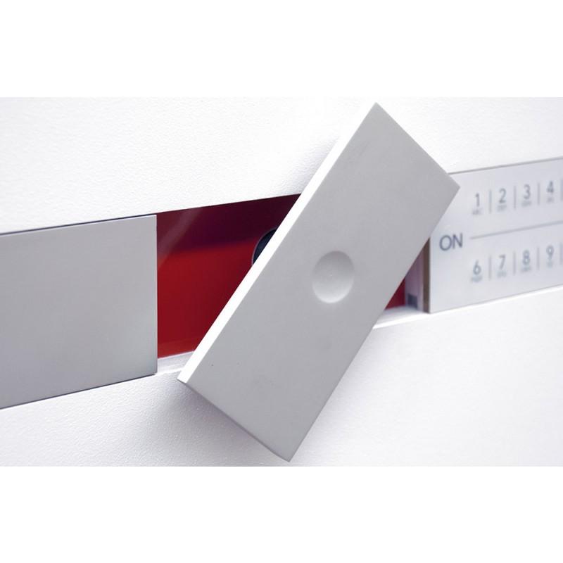 Coffre-fort à double paroi Brixia Tre Bordogna certifié avec serrure électronique