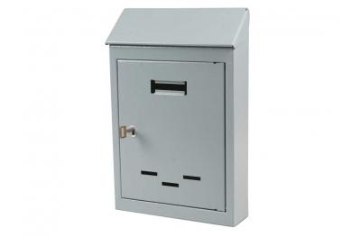 Mail Box Petite ou moyenne peint en gris fer avec Key IBFM