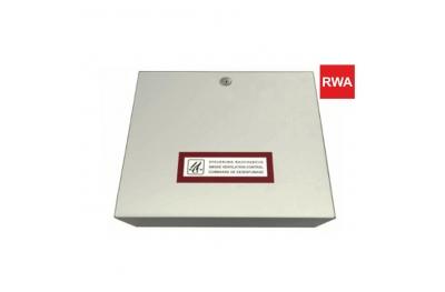 Unité de contrôle RWA RWZ 1-4b 230V 50Hz pour systèmes d'évacuation de fumée et de chaleur à utiliser avec les actionneurs de chaîne RWA Topp