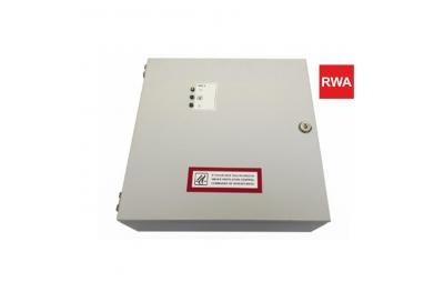 Unité de contrôle RWA RWZ 4-8d 230V 50Hz pour systèmes d'évacuation de fumée et de chaleur à utiliser avec les actionneurs de chaîne RWA Topp