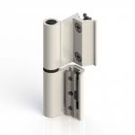 Charnière Flash Giesse Base de série R, pour Aluminium