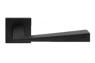 Conique Zincral base Ligne Cali Matt Black Paire de poignées sur Rosetta