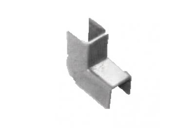 Garnitures de Steel Regolini Fermavetro Savio 12mm Largeur galvanisé