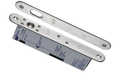 DX200I Électro-serrure à Pêne Piston 12/24V DC + Signal CDVI