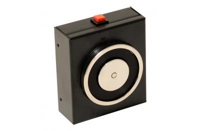 Retenteur Electromagnetique Noir 140 Kg Avec Bouton de Déblocage 18101 Opera