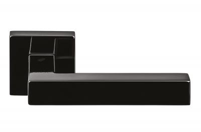 Poignée de porte Ellesse Grafite Black sur Rosette de Colombo Design