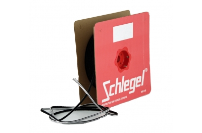 joint brosse Schlegel Polybond 6,9x15mm Sans Fin Noir Rouleau 100m