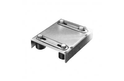 Acier supérieur d'orientation 4 Olive Nylon Savio pour portails coulissants en acier inoxydable
