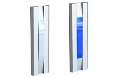 Feu de Signalisation Blanche Bleue Pour Portes 55030BB Serie Profilo Opera