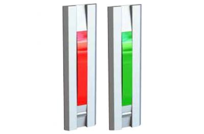 Feu de Signalisation Avec Poussoir Rouge Vert 55031 Serie Profilo Opera