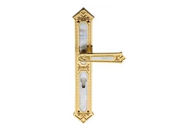 King Jewellery Line PFS Pasini Poignée sur la Plaque pour Porte