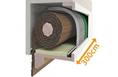 Kit Isolation Box Volets Roulants 300 cm PosaClima Renova