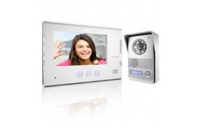 Kit interphone vidéo numérique Somfy V400 avec caméra et 2 fils