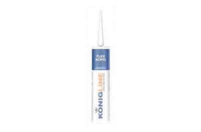 Konigline Eco Acryl Silicone Acrylique Blanc pour Portes et Fenêtres