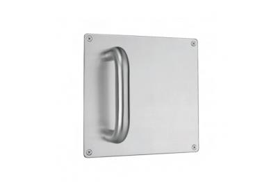 poignée fixe sur plaque en acier inoxydable Quadra PBA 2201 AISI 316L