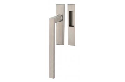 Ascenseur & Slide poignée TROPEX Genève en Satin Steel