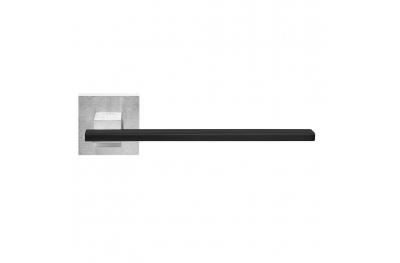 Milan Poignée sur Rosette avec insert noir laiton PFS i-Design Pasini