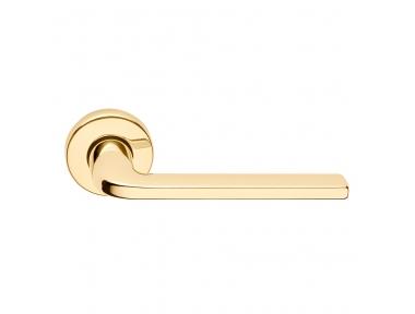 Milly Série de base forme Poignée de porte sur ronde Rosette Frosio Bortolo design contemporain