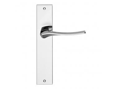 Série olimpia formes de mode Poignée de porte plaque de Frosio Bortolo pour Furniture Design