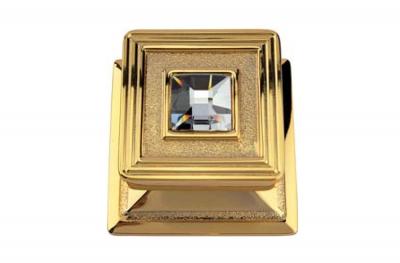 Opéra Crystal Knok Linea Calì1056 PT plaqué or avec cristaux Swarovski