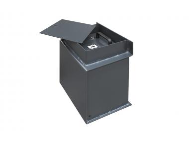 Coffre-fort de plancher P/01 Bordogna conçu pour les entreprises et les magasins