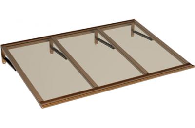 Lira cuivre Shelter Bronze Aluminium AMA Sun Protection