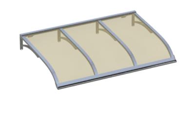 Shelter Vela Aluminium Bronze Aluminium AMA Sun Protection