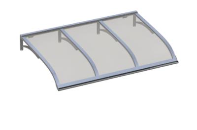 Shelter Vela Aluminium grise Aluminium AMA Sun Protection