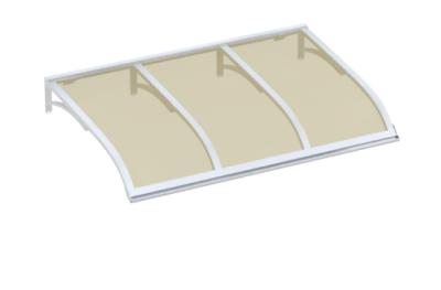 Shelter Vela Blanc Bronze Aluminium AMA Sun Protection