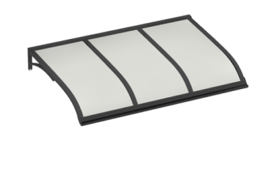 Shelter Voile gris opale Aluminium AMA Sun Protection