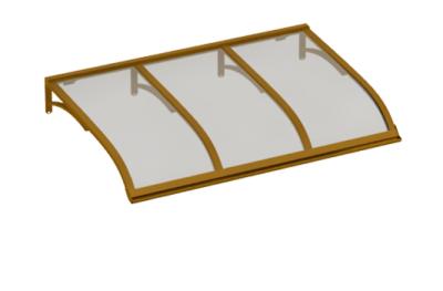 Abri Voile Cuivre Gris Aluminium AMA Sun Protection