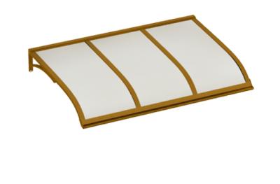 Abri Voile Cuivre Aluminium Opale AMA Sun Protection