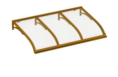 Cuivre abri Voile transparent Aluminium AMA Sun Protection