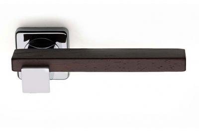 Plus Line Wenghe Wood Poignée sur Rosetta Carré Fashion Line PFS Pasini