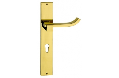 Plus Up Brass Poignée sur la Plaque pour Porte Fashion Line PFS Pasini
