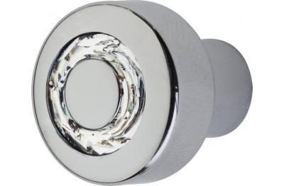 Bouton de meuble Linea Calì Cosmic Crystal CR avec Swarowski® Jet