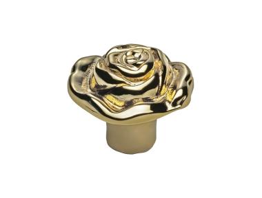 Bouton classique pour Mobile Line Cali Rose FV avec Gold Finish Français