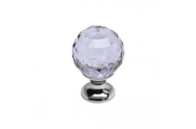 Pommeau Mobile Line Cali Cosmic Cristal CR avec Swarowski® Viola