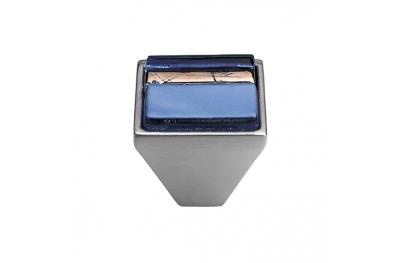 Mobile Linea Cali bouton Cristal BRERA LINEAR PB 32 CS insérer verre bleu
