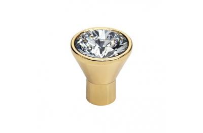 Mobile Linea Cali Bouton cristal de diamant OZ Swarowski® or pur