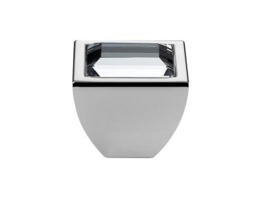 Mobile Linea Cali Bouton Cristal ELIOS CRYSTAL PB avec Swarowski® Chrome poli