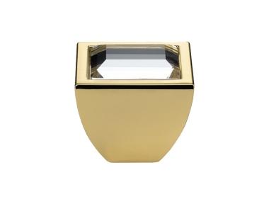 Mobile Linea Cali Bouton Cristal Elios Cristal PB Swarowski® d'or pur