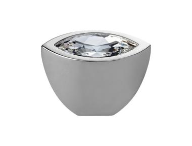 Pommeau Mobile Line Elipse Cali Cristal PB avec Swarowski® Chrome poli
