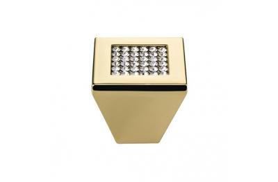 Pommeau Mobile Line Cali Mesh cristal PB avec cristaux Swarowski® Oro Zecchino