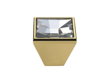Mobile Linea Cali Mirror PB bouton avec cristaux Swarowski® Oro Zecchino